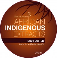 AIE1543 - Indigenous Baobab Marula body butter 250 ml Top