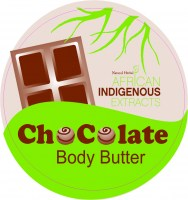 AIE1585 Indigenous Chocolate Body Butter 250 ml Top Groen